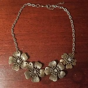 Anthropology necklace NWOT